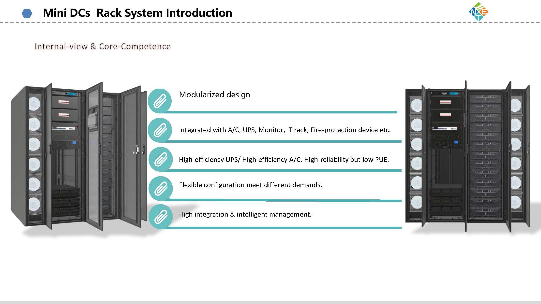 NET Mini DCs Rack Systems-NET POWER
